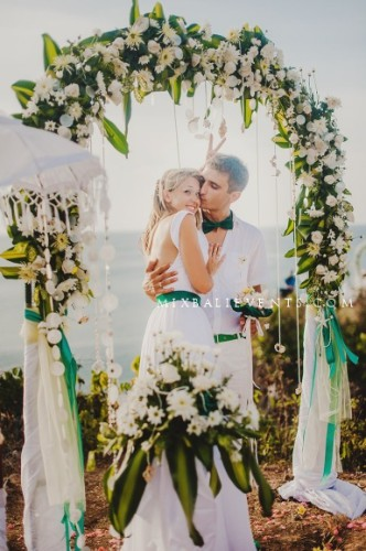 Свадьба на Бали Морской бриз, свадьба на бали, свадебная церемония на Бали, церемония на Бали