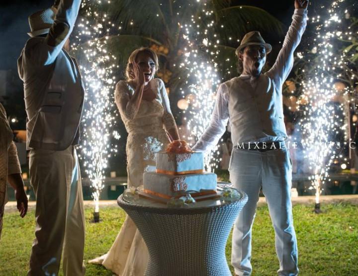 Wedding ceremony in Bali - Rio Sidik and Elizabeth Rozanova. Part 3