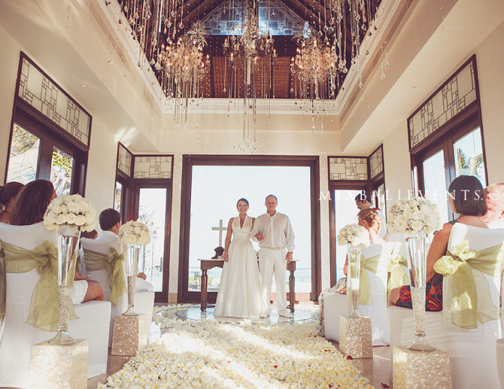 Wedding Ceremony at Chapel «Lovely Lilies»