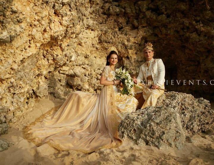Balinese wedding by the ocean of Jovita and Mindauskas