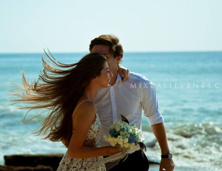 Wedding on the beach in the Rustic Chic style. Kristina and Vladislav