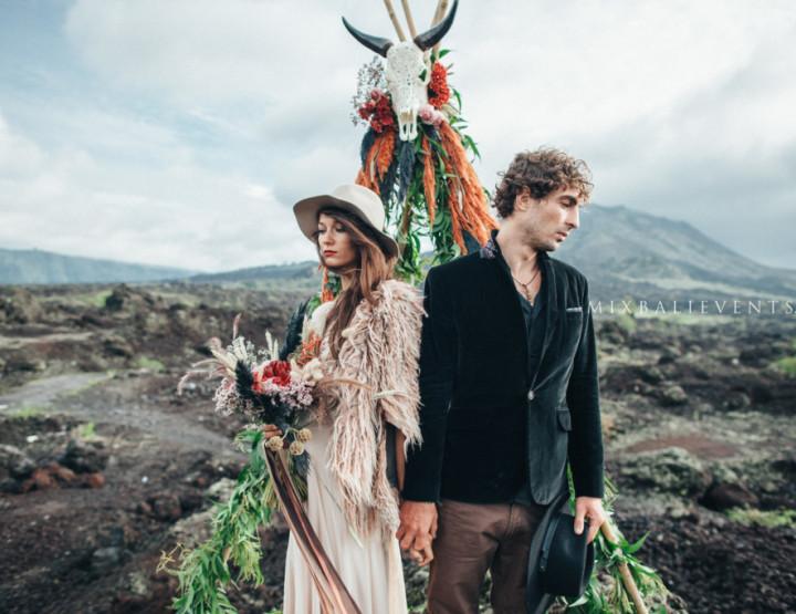 Volcano Wedding Ceremony. Sensation of 2018!