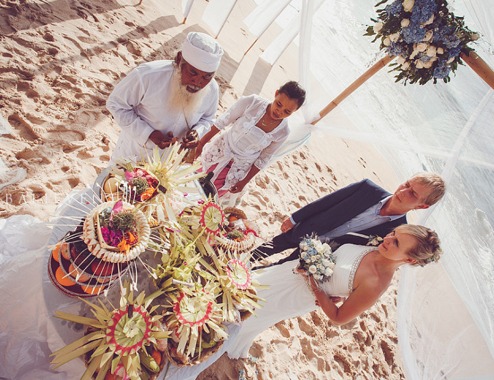 Wedding in the Balinese style