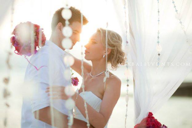 Wedding in a luxury villa by the ocean. Alexey and Maria