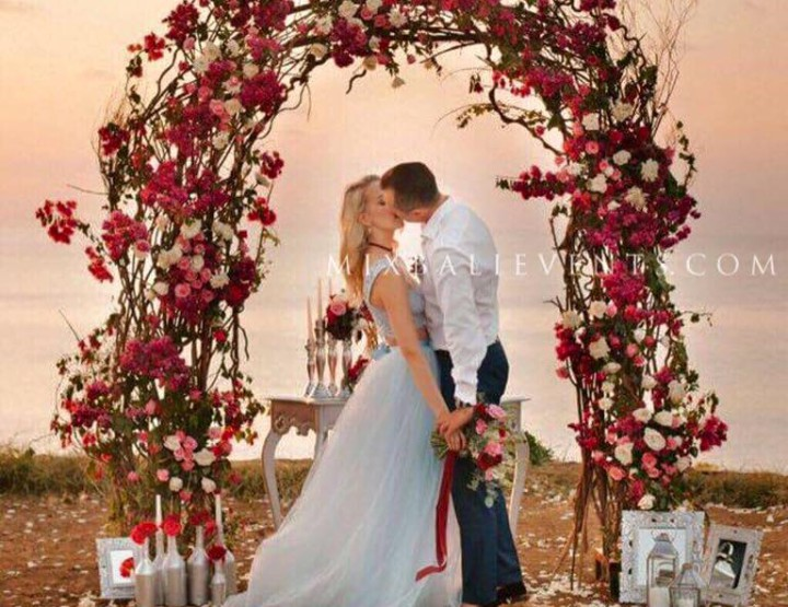 Trend of 2016 - Wedding in Marsala color