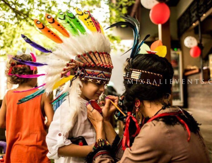 Indian Birthday in Bali