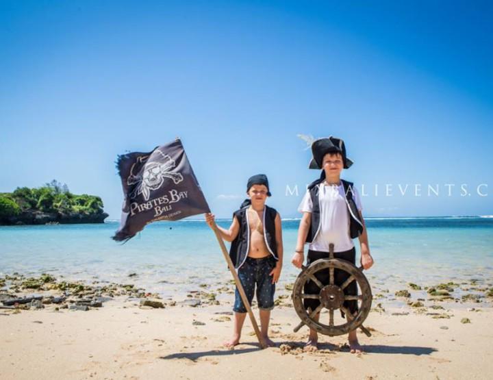 Pirate Birthday in Bali