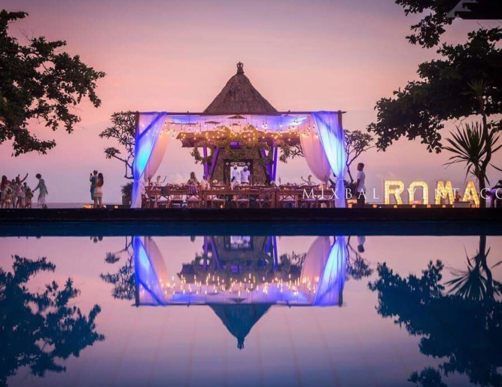 Birthday at the Villa by the Ocean - in MIX Bali Events.